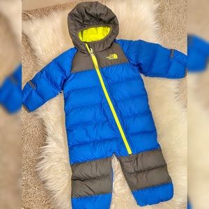 The North Face snowsuit